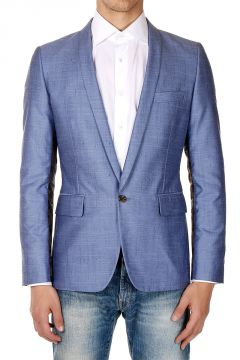 Silk Mixed Blazer