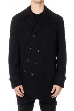 Black Long Wool Coat