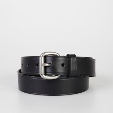 HOMME PLUS Cintura in Pelle 35 mm