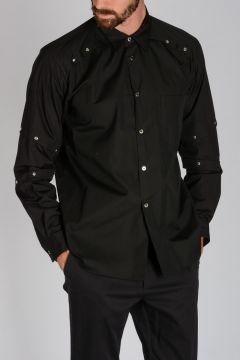 Camicia in Cotone con Borchie