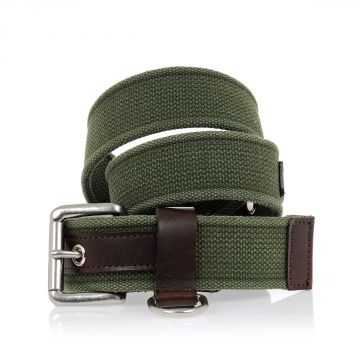 JUNYA WATANABE Cotton & Leather Belt 40 MM
