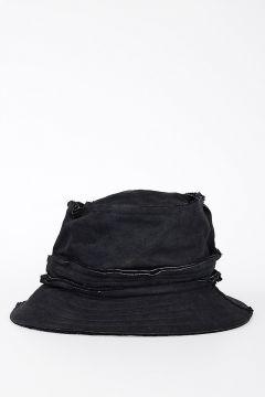 Bucket Leather Hat
