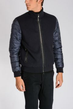 CORNELIANI ID Fabric, Virgin Wool & Cashmere Down Jacket
