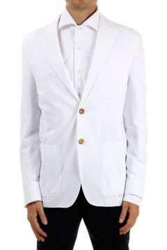 2 Buttons Single Breast cotton Jacket