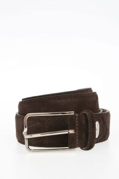 35 mm Suede Leather Belt