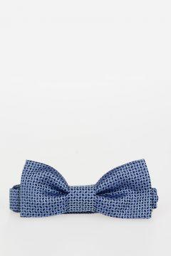 CC COLLECTION Silk Bow Tie & Silk Blend Handkerchief Set