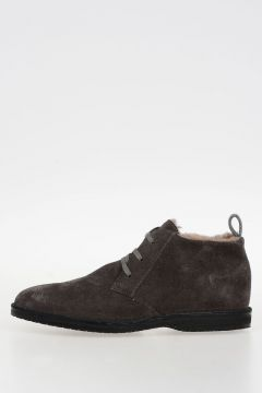 ID CORNELIANI Suede Leather Shoes