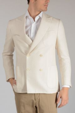 Cotton and Silk ACADEMY Jacket