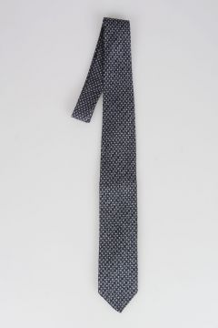 CC COLLECTION Knitted Silk Virgin Wool Tie