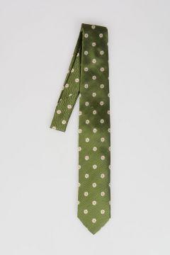 CC COLLECTION Margaret print silk Tie
