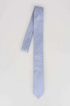CC COLLECTION Striped print silk Tie