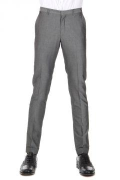 Pantaloni in Lana Vergine e Cotone Drop 8R