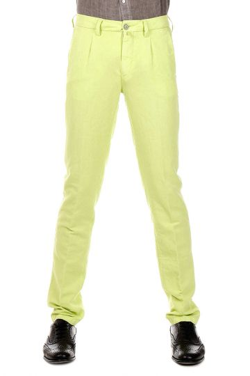 Pantaloni FINITO in Cotone e Lino