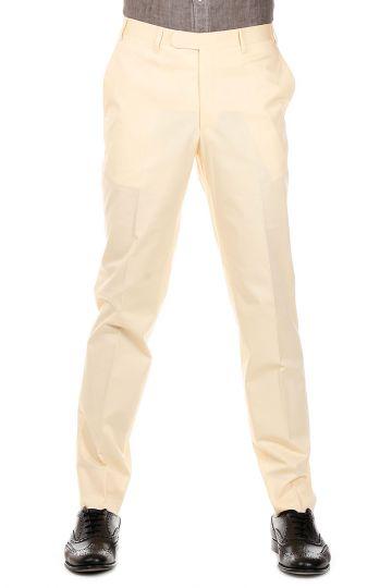 Pantaloni REFINED in Cotone Stretch