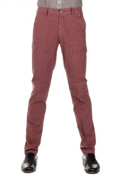 CC COLLECTION Pantalone a Righe di cotone Stretch