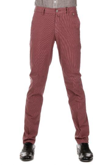 CC COLLECTION Pantalone a Righe di cotone Stretch