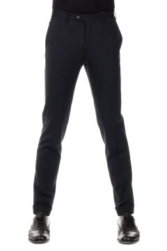 Pantaloni ACADEMY in Lana Vergine Stretch
