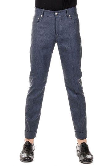 ID Pantaloni in Misto Lana