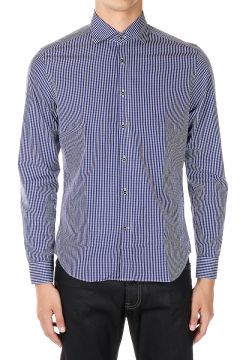 ID CORNELIANI Camicia SLIM FIT a Quadri