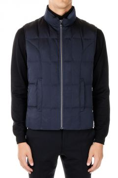 ID CORNELIANI Sleeveless Down Jacket