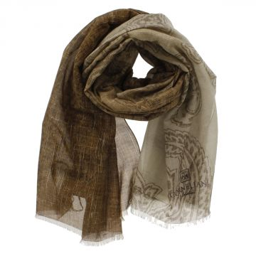 Mixed Silk Foulard 180 x 65 cm
