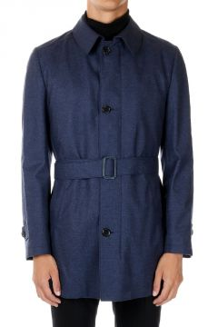 Virgin Wool Trench