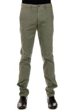 ID CORNELIANI Pantalone in Cotone Stretch