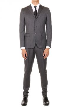 CC Virgin Reward  Wool Suit Gray Prince Of Wales