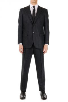 Virgin Wool Pinstriped MASTER Suit