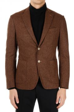 CC COLLECTION Virgin Wool Blend single Breasted Blazer