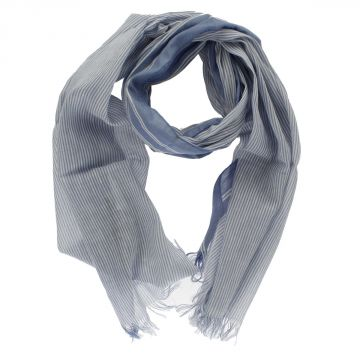 Linen and Cotton Blend Scarf