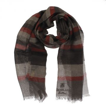 Cashmere Silk and Linen Blend Scarf