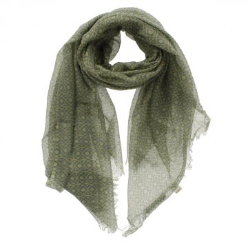 CC COLLECTION Cotton Blend Scarf