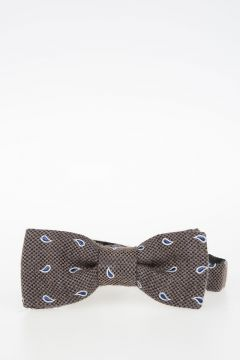 CC COLLECTION Silk and Cotton Bow Tie