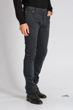 CORNELIANI ID Stretch Cotton Pants