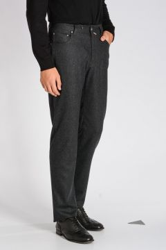 CORNELIANI ID Wool Pants