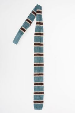 Knitter Tie Striped