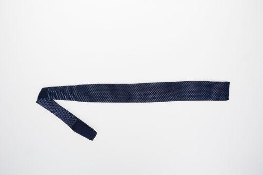 Cravatta in Maglia di Seta Bicolor