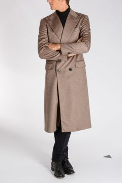Cashmere Silk Coat