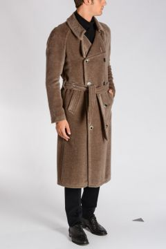 Alpaca & Virgin Wool Coat