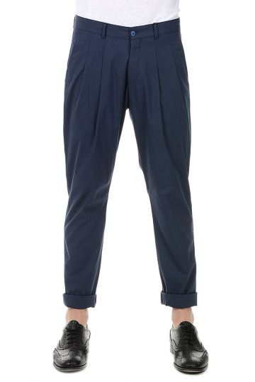CC COLLECTION Pantaloni RESET in Misto Cotone