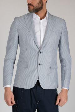 CC COLLECTION Virgin Wool & Linen Blazer