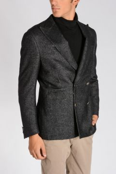 Virgin Wool, Silk & Cashmere ACADEMY SUPER S Blazer