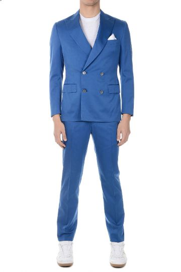 CC COLLECTION Cotton Wool Blend ACADEMY Suit