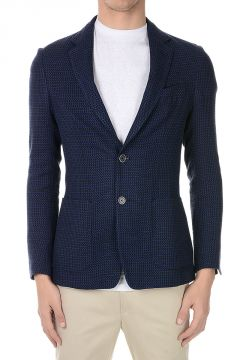 CORNELIANI ID Virgin Wool and Linen IDENTITY Blazer