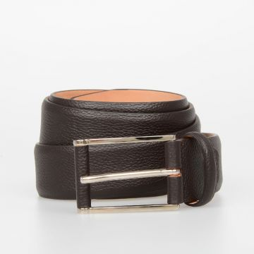 CORNELIANI ID 35mm Leather Belt