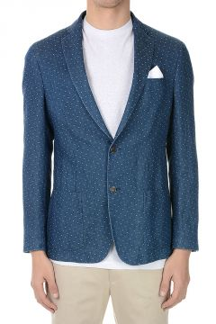 CORNELIANI ID Cotton and Linen IDENTITY Blazer