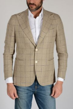 CC COLLECTION Silk & Abaca Blazer