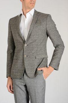 CC COLLECTION Silk Virgin Wool RESET Blazer