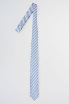 CC COLLECTION Striped Silk Blend Tie